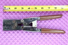 Molex Htr2445a Hand Crimp Tool Electrical Cable Ratchet Crimper