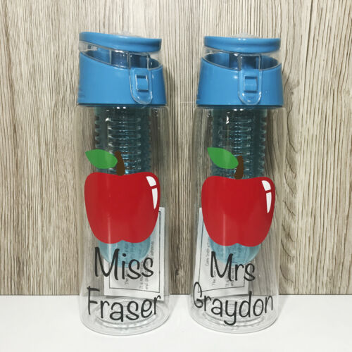 Personalised Teacher 700ml Adult Fruit Infuser Water BottleTeacher End of Sch