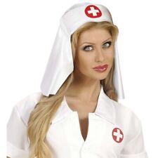Einfarbige Schwesternhaube Ärztin Häubchen Schwester Haube