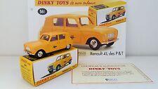 Dinky Toys Atlas - Renault 4 Postes P & T