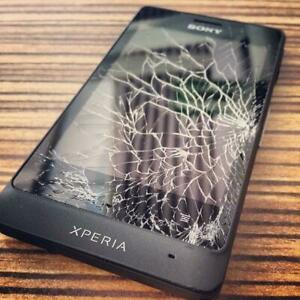 [ BEST PRICE ] SONY XPERIA Z5, Z4, Z3, Z3 COMPACT, Z2, Z1, Z, M4, ULTRA CRACKED SCREEN, LCD, BACKING REPAIR ON SPOT ! City of Toronto Toronto (GTA) Preview