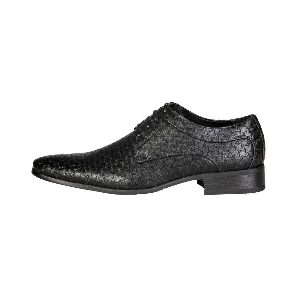 V 1969 Hombre Zapatos Negro 14322