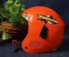 Nice ROSSIGNOL FUN COMP J RED Ski Snowboard Helmet M 52-55cm 490g