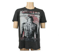 Mens Condemned Nation Anti Hero Blinded Faded Black T-Shirt