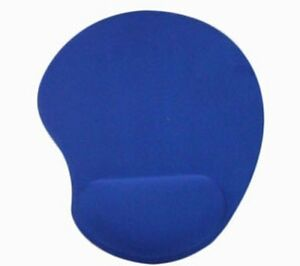 BLUE-ANTI-SLIP-MOUSE-MAT-PAD-WITH-WRIST-SUPPORT-PC-amp-LAPTOP-UK-SELLER