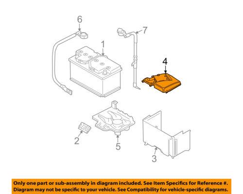 VW VOLKSWAGEN OEM 99-01 Jetta 2.0L-L4 Battery-Box Top Cover 1J0937559B