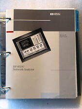 Agilent / HP 8510C Network Analyzer Keyword Dictionary
