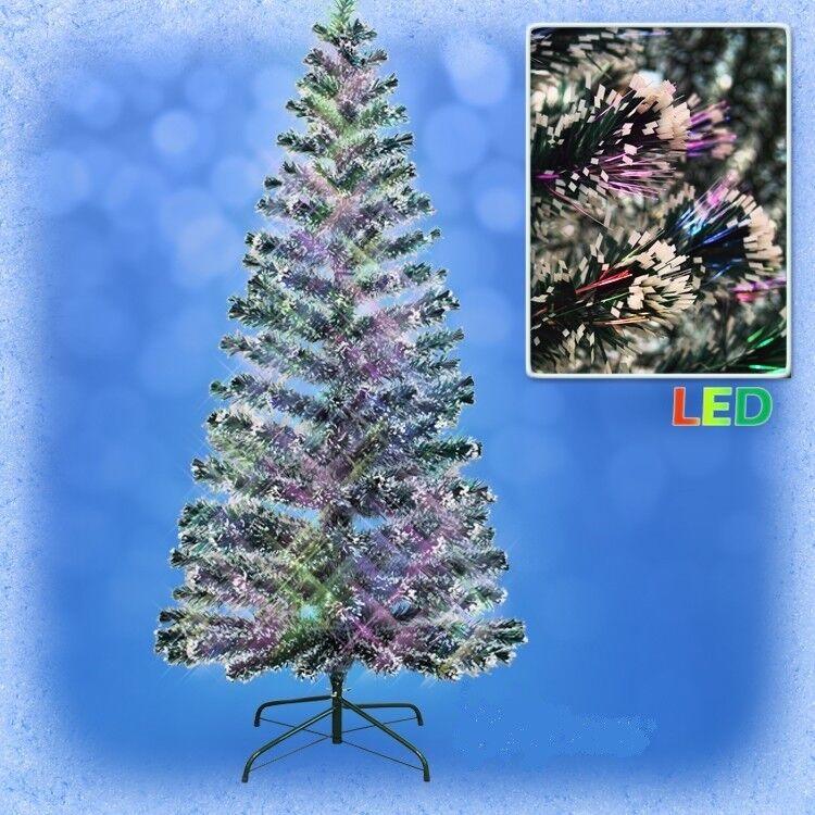 DEL Artificiel Sapin de avec Noël sapin avec de farbwechselnde Lumière fibres ёлка d38cd2