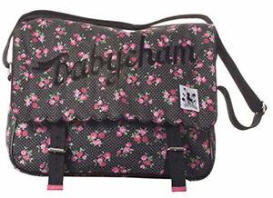 Sac à Main Bandoulière Épaule Bag BABYCHAM Femme Femmes Black Noir ZIUB005