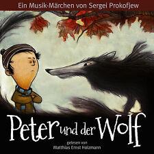 Audiolibro CD Peter y el Lobo Alemán y Inglés con Leonard Bernstein