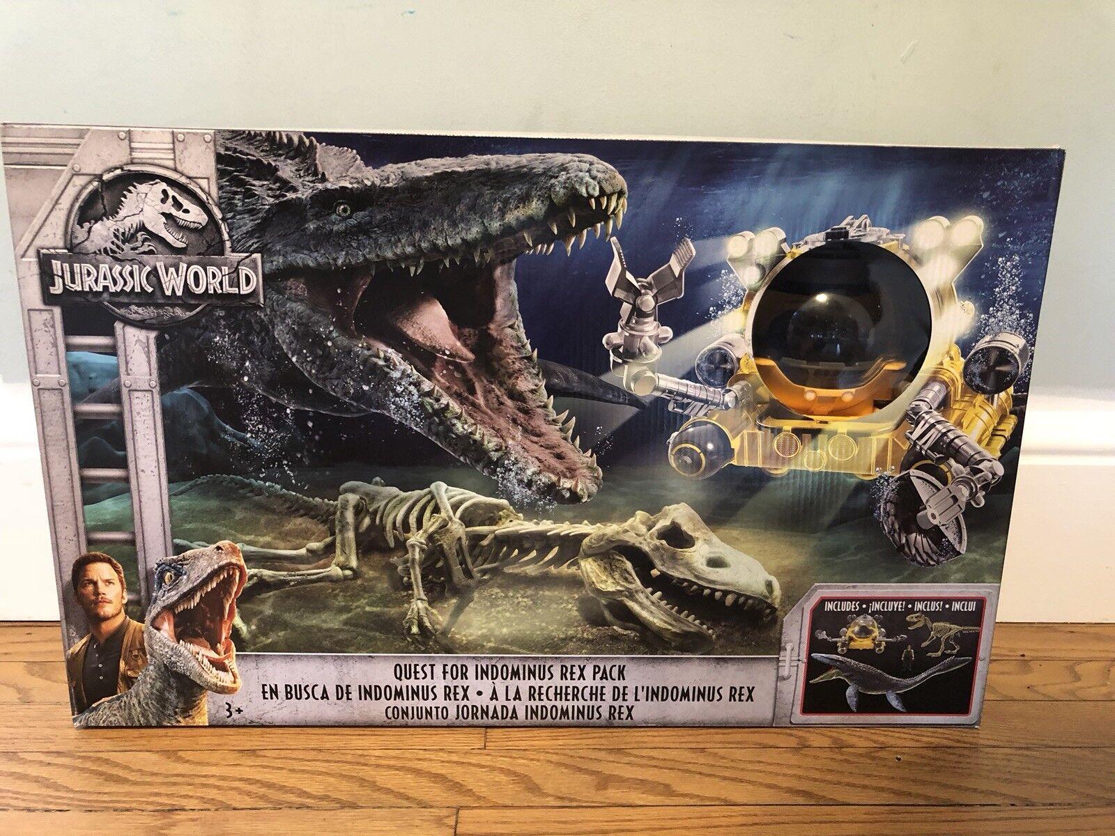 Jurassic World Ftuttien rossoom Quest For Indominus Rex Mosasaurus  Submarine FVP53  vendita di fama mondiale online