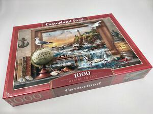 Puzzle-1000-pieces-La-marine-neuf-68x47cm-de-marque-Castorland