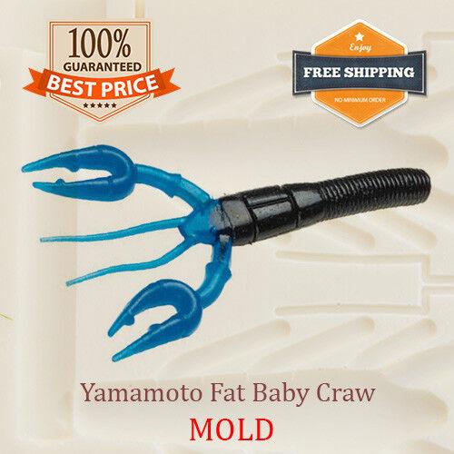 Yamamoto Fat Baby Craw Fishing Lure Bait Mold Soft Plastic 95-114 mm