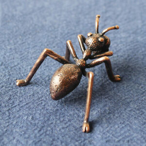 Old Chinese Bronze Copper Fengshui  Wealth Animal  ant  Statue