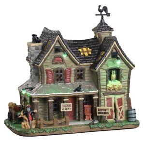 Lemax Spooky Town Frightmore Farm Very Rare NIB 2020 ! VHTF Lighted Halloween