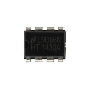 10pcs-LM386-LM386N-DIP-8-audio-amplificador-de-potencia-IC-gran-dicha