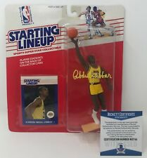 Kenner 1988 Starting Lineup NBA Kareem Abdul Jabbar 33 La Lakers & Card MOC VHTF
