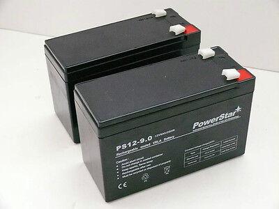 2 Pack - 12V 9Ah BATTERY APC BACK-UPS XS1500 RBC109 PS-1290