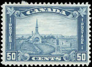Canada-Mint-H-F-VF-Scott-176-50c1930-KGV-Arch-Leaf-Stamp