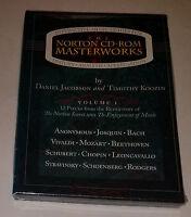 Sealed Norton Cd-rom Masterworks Interactive Guide History Anaylsis Appreciation
