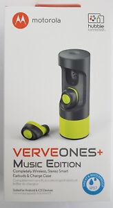 1bcb58c42 Image is loading Motorola-VerveOnes-Wireless-Bluetooth -Waterproof-Smart-Earbuds-Music-