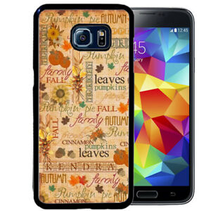 Personalized-Case-Fits-Samsung-Galaxy-S10-S9-S8-S7-Plus-Pumpkin-Text-Autumn
