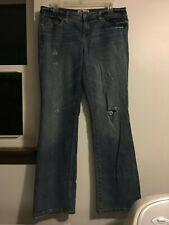 e1d3fd1a05d item 1 L.E.I. Bridget Curvy Boot Ripped Distressed Low Rise Denim 11 Blue  Jeans -L.E.I. Bridget Curvy Boot Ripped Distressed Low Rise Denim 11 Blue  Jeans