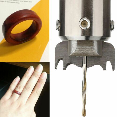12pcs Ring Drill Bit Bead Maker Wood Thick Ring Router Tool 16//17//18//19//20//21mm