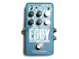 Used Electro-Harmonix Eddy Analog Vibrato & Chorus Guitar Effects Pedal
