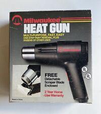 Milwaukee Heat Gun Model 1220hs 4100 Btus In Original Box