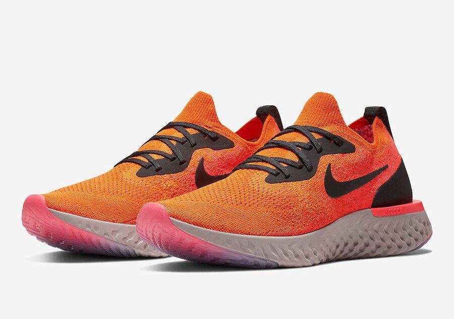 Nike Epic React Flyknit Copper Flash orange Size 14 NIB  [AQ0067-800]