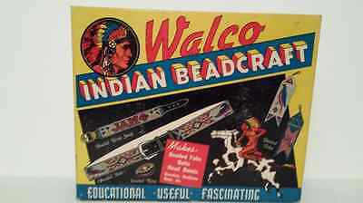 Vintage Walco Indian Beadcraft, 1935, outfit #210 in original box