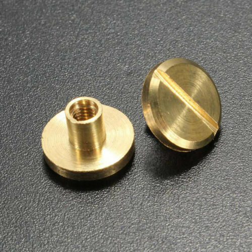 Brass Nail Round Head Screws Strap Rivets Screw Leather Craft Solid Nail Bolt