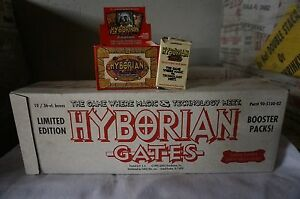 10 Box 1995 Hyborian Gates Collectible Card Game CCG Booster Pack by Julie Bell