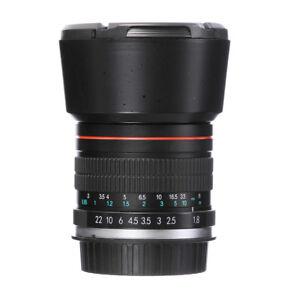 85mm-F-1-8-Portrait-Lens-for-Nikon-D7200-D7500-D5300-D5600-D3400-D750-D90-Camera