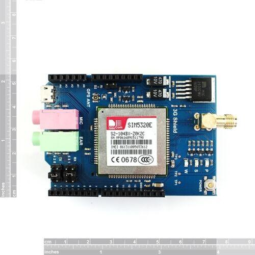 European version SIM5320E 3G//GPRS//GSM Shield for Arduino