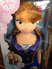 """ANNA MY SIZE DOLL. 38"""" With Light Up Flower Clip NEW BOXED"""