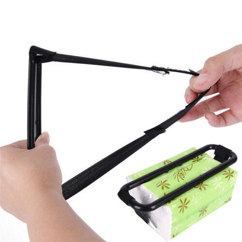 Car Clip Sun Visor Tissue Holder Box Paper Case Cover Napkin Universal AC55