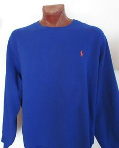 NWT-Polo-Ralph-Lauren-Blue-Fleece-Sweatshirt-Athletic-Pullover-Sz-S-XL-XXL