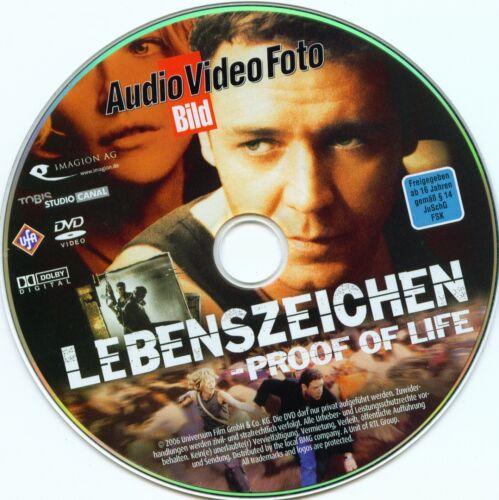 1 von 1 - Lebenszeichen - Proof of Life / AVF-Bild-Edition 03/06 / DVD-ohne Cover