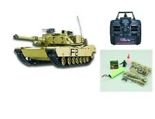 RC Panzer U.S.M1A2 ABRAMS R&S/2.4GHZ Schuss, Rauch und Sound 23038