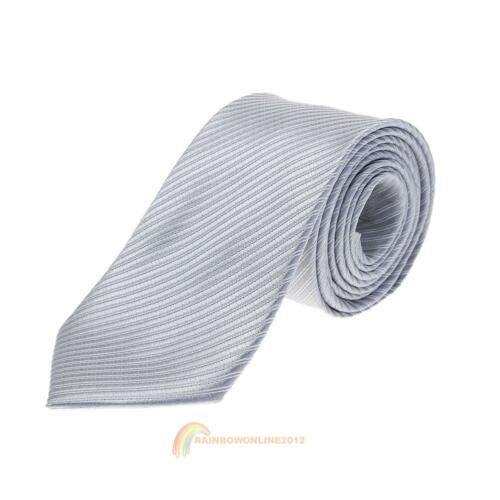 Fashion Men/'s Necktie Jacquard Tie Silk Business Office Casual Wedding Party Tie