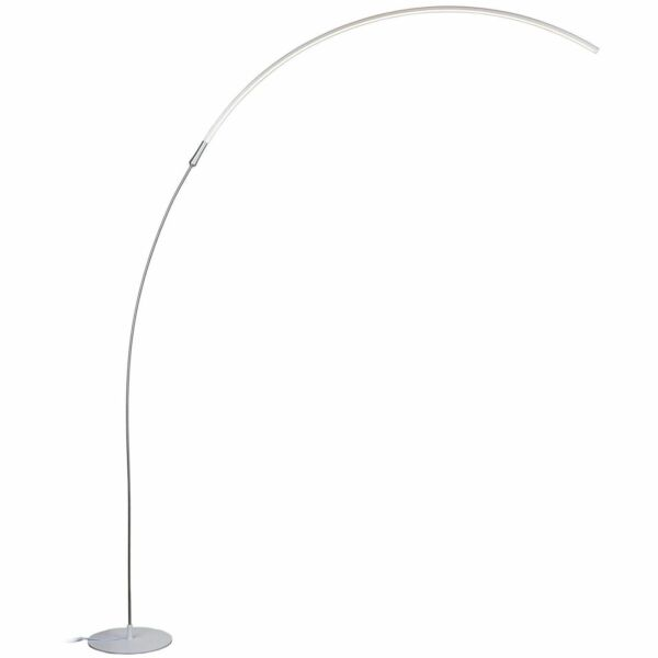Brightech Sparq Arc Led Floor Lamp Curved Contemporary
