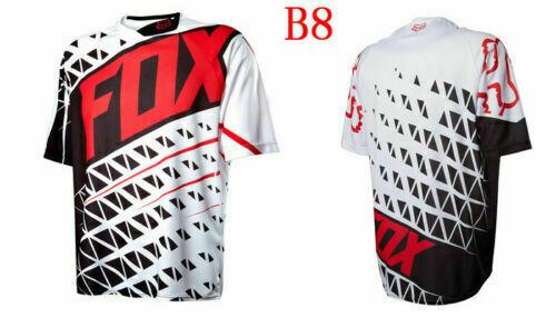 FOX Radtrikot Trikots Racing MTB Fahrrad Team Downhill Off Road Cycling Jersey++