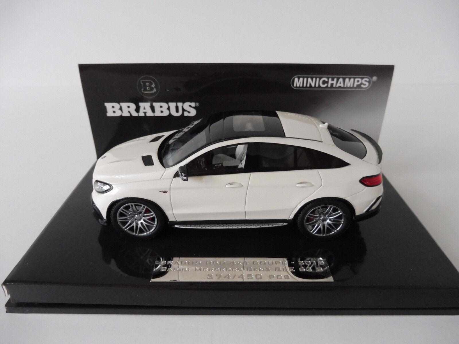 BRABUS 850 4x4 Coupé Mercedes-Benz AMG assimilés 63 1 43 MINICHAMPS 437034310