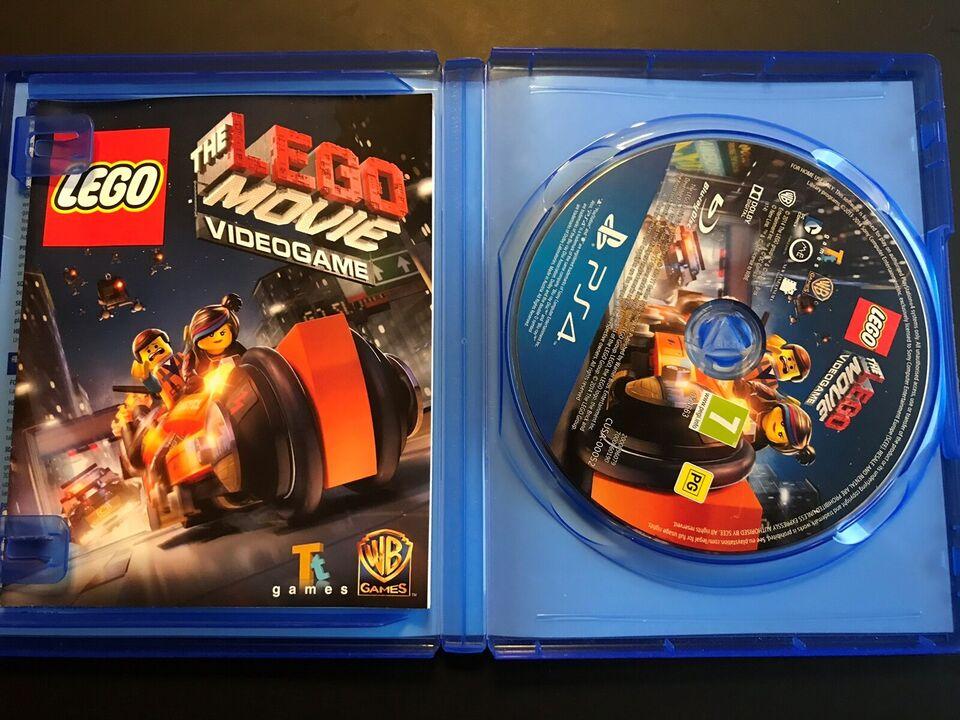 Lego movie, PS4
