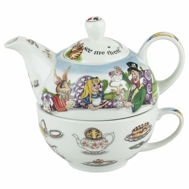 Cardew Design Alice In Wonderland Tea For One 16ounce Teapot And
