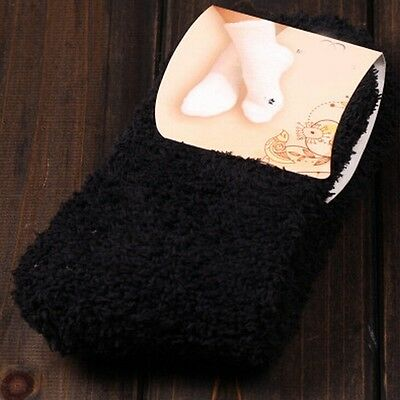 8 Styles Womens Girl Fuzzy Cozy Warm Ankle Socks Winter Casual Soft Hosiery Gift