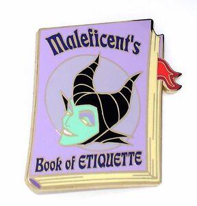 Le 500 Disney Auction Pin Sleeping Beauty Villain Maleficent Book Of Etiquette Ebay