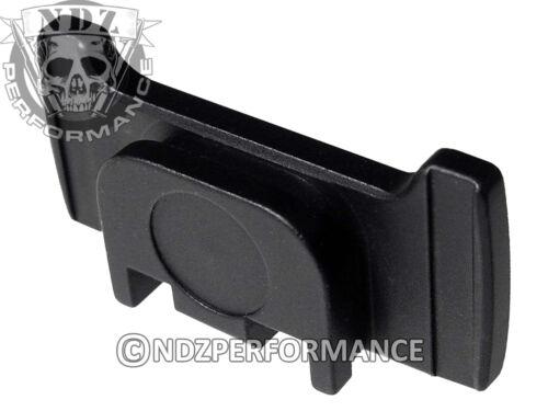 for All Glock GEN 1-5 Model Rear Slide Racker Plate MOS BK Plain